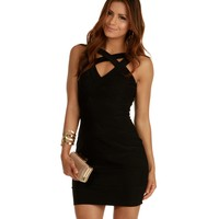 Black Can't Stop Me Bodycon Dress