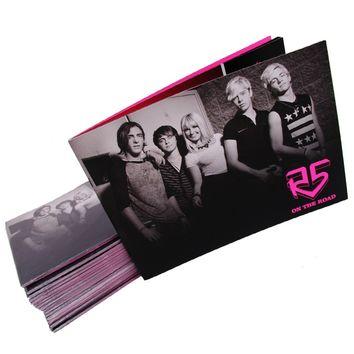 R5 2013-2014 On The Road Tour Book | R5 Rocks