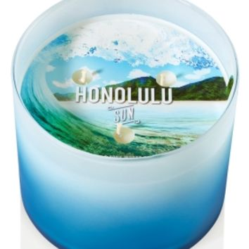 3-Wick Candle Honolulu Sun