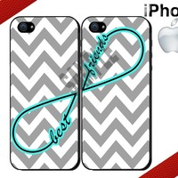 iPhone Case - iPhone 4 or iPhone 5 Case - Infinity Chevron - Two Case Set