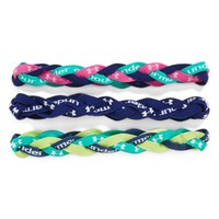 Women's Under Armour Braided Headband (3-Pack)