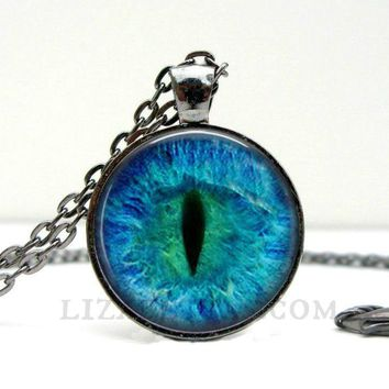 Cat Eye Necklace Gifts for Cat Lovers - Cat Lady - I Love Cats - Cat Lover Gift