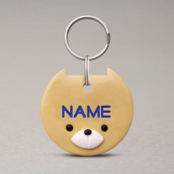 Shiba Inu Dog ID Tag - Cute Accessories, Custom Name Tag, For Dogs