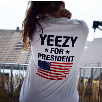Cute Yeezy For President T-Shirt