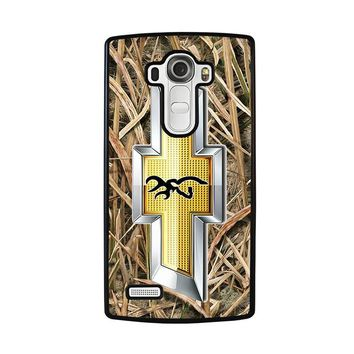 CAMO BROWNING CHEVY LG G4 Case Cover