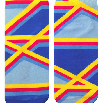 Geo 4 Ankle Socks