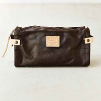 Will Leather Goods Wax-Coated Canvas Travel Bag-