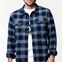 Billabong Lincoln Long Sleeve Flannel Button Up Shirt - Mens Shirts