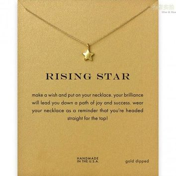 Stylish Gift Jewelry New Arrival Shiny Alloy Lock Necklace   With Card [6345012225]
