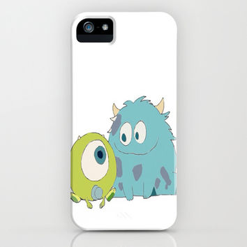 Sulley and Mike iPhone & iPod Case by hayimfabulous