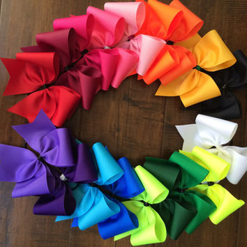Practice Cheer Bows (5 bows)
