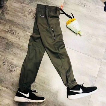 DCCKB62 Supreme Men Fashion Casual Print Sport Stretch Pants Trousers Sweatpants G-WMGCD