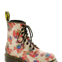 Dr. Martens Urban Stomp in the Name of Love Boot in Beige