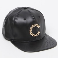 Crooks and Castles Thuxury Chain C Strapback Hat - Mens Backpack - Black - One
