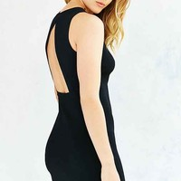 Glamorous Open-Back Ponte Mini Dress