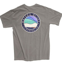 Waters Bluff Bluff Horizon Short Sleeve Tee- Grey