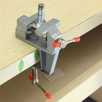 Hot Sale 35mm Aluminum MiniAture Small Jewelers Hobby Clamp On Table Bench Vise Tool Vice
