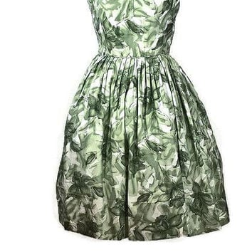 1950 Rockabilly Rose Summer Sun Dress, Just In