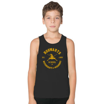 Harry Potter, Hogwarts Graduation Kids Tank Top