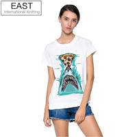 The Pizza Shark Graphic Womens Tee