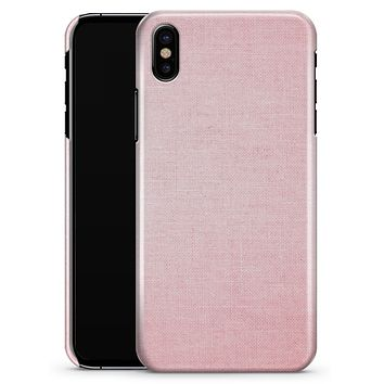 The Pink Ombre Scratched Service  - iPhone X Clipit Case