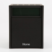 Ihome Ibn180 Bluetooth Fm Clock Radio Black One Size For Men 25549410001