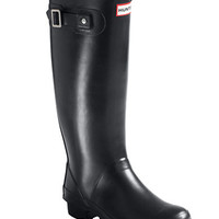 "Hunter ""Huntress"" Tall Wide-Calf Rubber Rainboots"