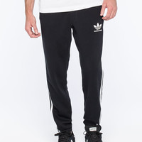 Adidas 3 Stripe Mens Sweatpants Black  In Sizes