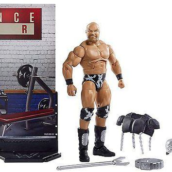 WWE Warlord Action Figure Elite 50 Mattel Toy NEW