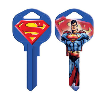 Superman Blank House Key