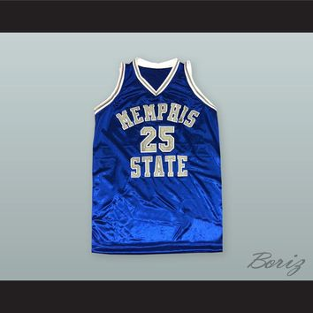 Anfernee 'Penny' Hardaway 25 Memphis State Basketball Jersey