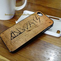 Harry Potter Deathly Hallows Case, iPhone 6/5C/5S/5/4/4S Case, Samsung Galaxy