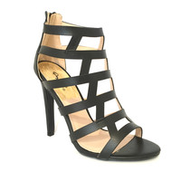 Spark Interest Heels In Black