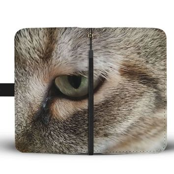 Cat's Eye RFID Wallet Case