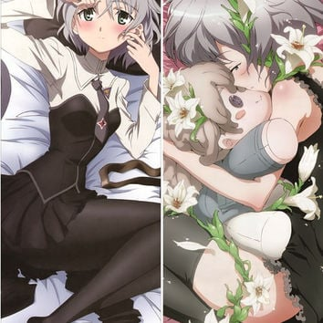 New Strike Witches Anime Dakimakura Japanese Pillow Cover SW1