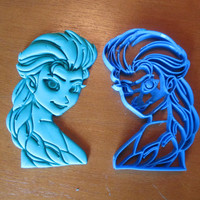 Princess Elsa Inspired Cookie/Fondant Cutter