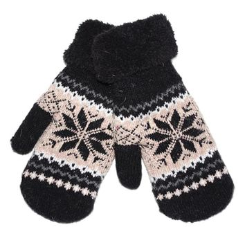 2017 Winter Gloves Women Thicken Warm Wool Cotton Gloves for Women Ladies Full Finger Gloves Mittens Guantes Mujer