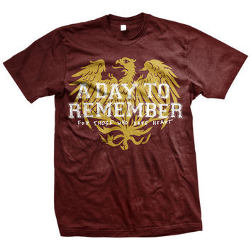 A Day To Remember: Friends (Maroon) T-Shirt (Maroon)