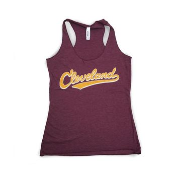 Cleveland Athletic Script - Basketball Tank Top