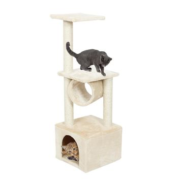Domestic Delivery H110cm Cat Toy Kitten House Scratching Post Wood Climbing Cat Tree Pet Home Cat Luxury Jumping Frame Furniture