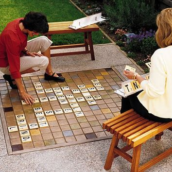 Fancy - Backyard Scrabble