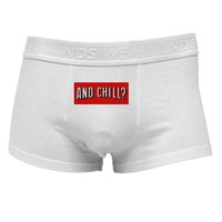 And Chill Mens Cotton Trunk Underwear