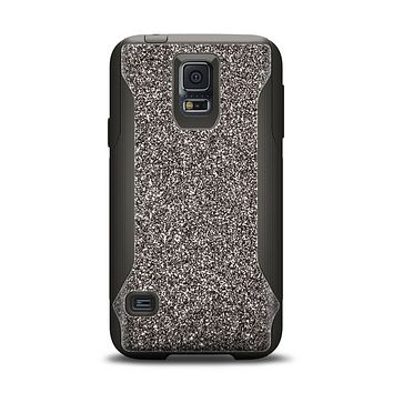 The Black Glitter Ultra Metallic Samsung Galaxy S5 Otterbox Commuter Case Skin Set