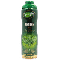 Imported French Mint Syrup by Teisseire, 20 oz