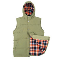 Down Insulated Field Vest Olive