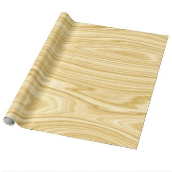 Elegant Wood 3 Wrapping Paper