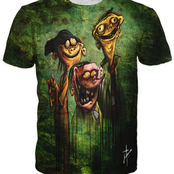 Ed, Edd n Eddy on Bath Salts T-Shirt