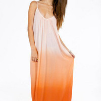 Kiss Me Ombre Maxi Dress $40