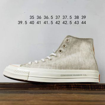 Kuyou Fa19630 Foot Patrol X Converse Chuck Taylor 1970 High-tops Canvas Shoes