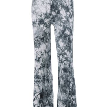 Fashionable High Waist Tie Dye Loose-Fitting Pants